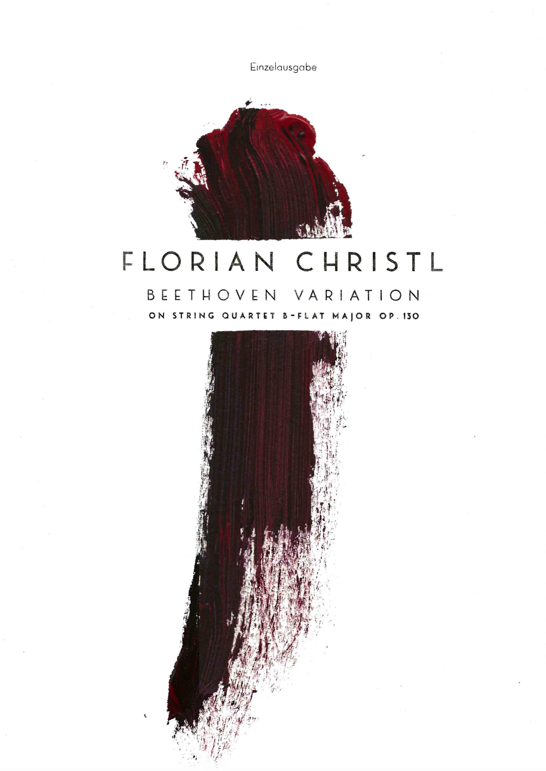 Florian Christl | Music Sheet | Beethoven Variation | 1st edition | 008